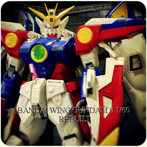 BANDAI Wing Gundam 0 1/60 rebuilt