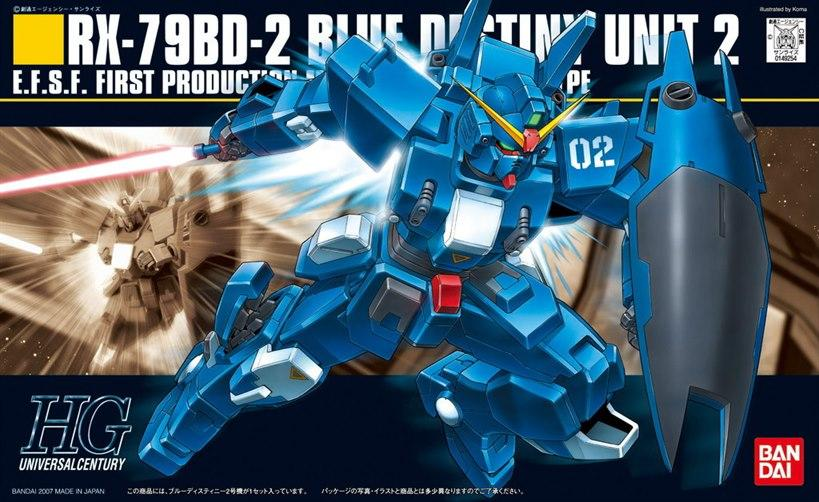 [077] RX-79BD Blue Destiny Unit 2