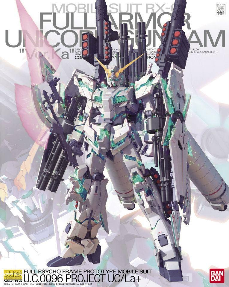 RX-0 Full Armor Unicorn Gundam Ver.Ka (MG)