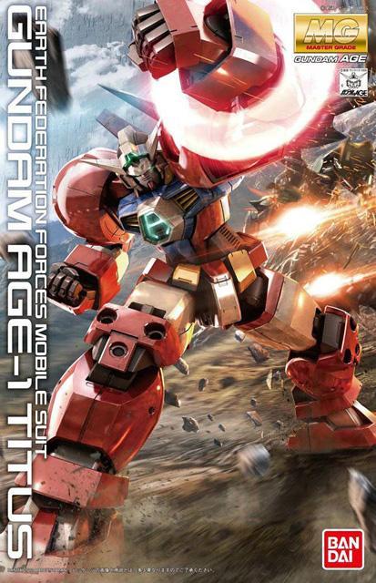 Gundam AGE-1 Titus (MG)