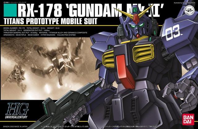 [030] RX-178 Gundam Mk-II Titans Color