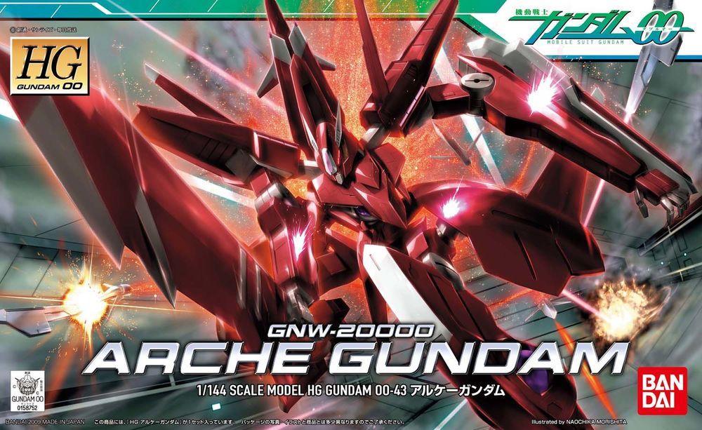[43] GNW-20000 Arche Gundam (HG)