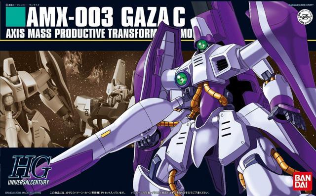 [062] AMX-003 Gaza-C (Haman Custom) (HGUC)