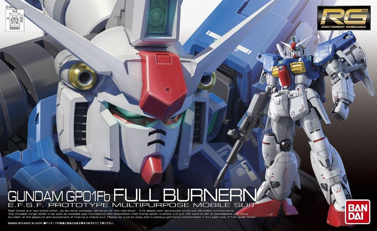 [13] RX-78GP01Fb Gundam GP01 Full Burnern (RG)