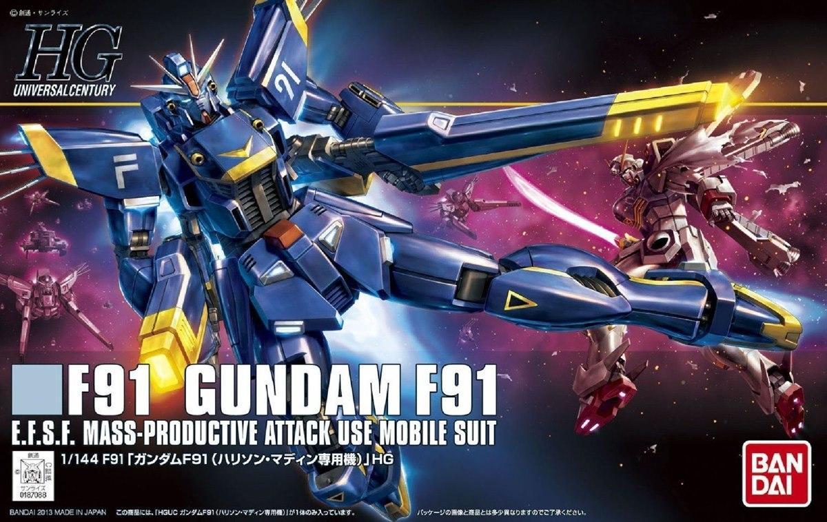[168] Gundam F91 Harrison Madin Custom (HGUC)