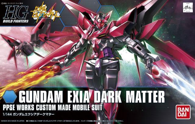 [013] Gundam Exia Dark Matter (HGBF)