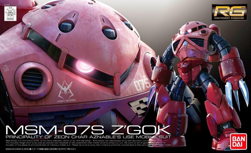 [16] MSM-07S Char ZGok (RG)