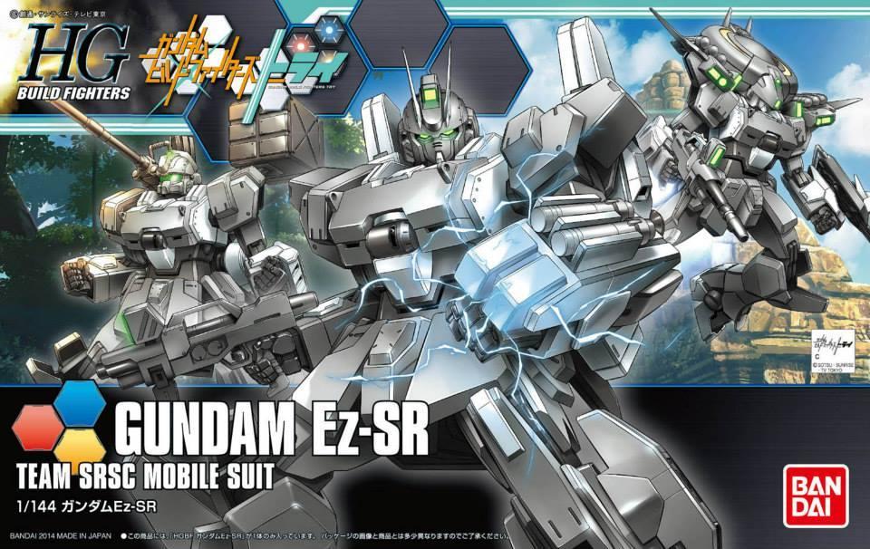 [021] Gundam Ez-SR (HGBF)