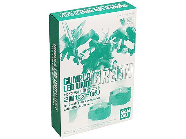 Gunpla LED Unit Green 2 Pieces Set