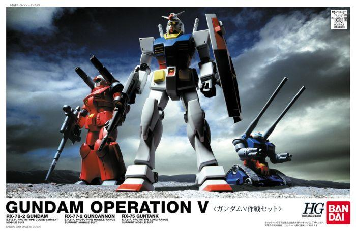 1/144 (HGUC) GUNDAM OPERATION V SET