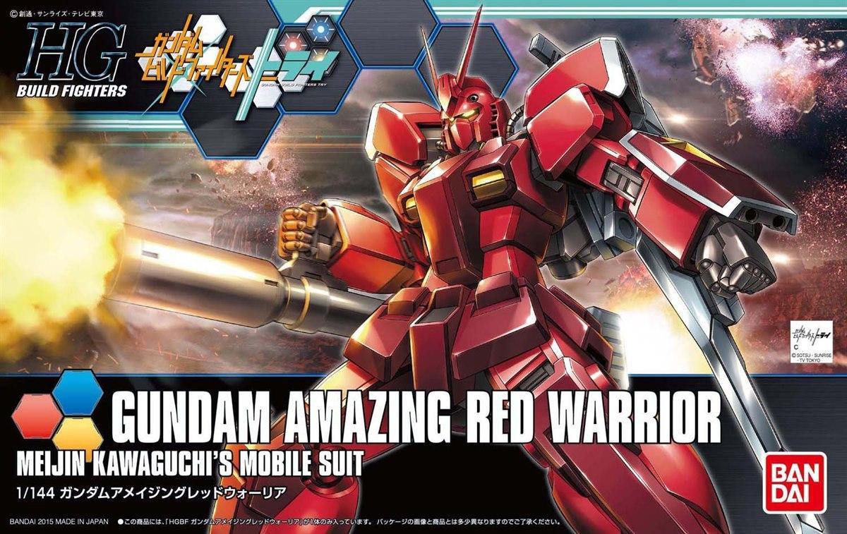 [026] Gundam Amazing Red Warrior (HGBF)