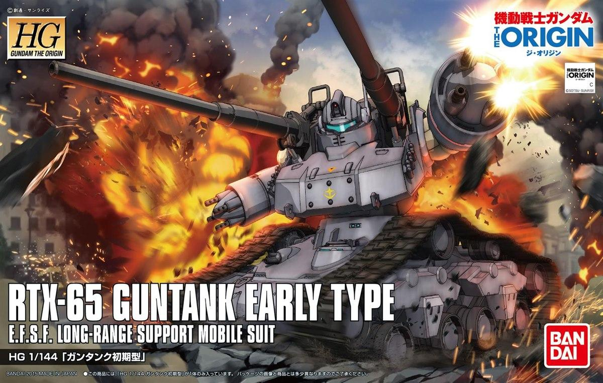 GUNDAM Origin [002] Guntank Early Type (HG)