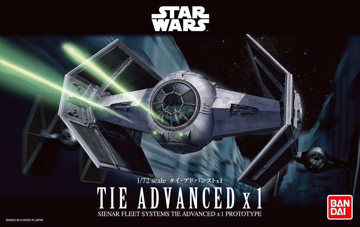 [Star Wars] TIE Advanced x1 1/72 scale