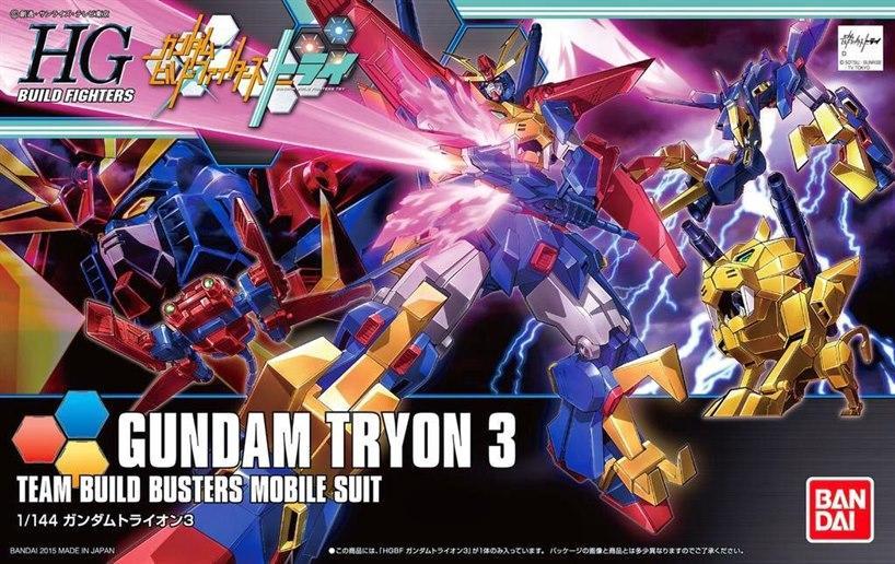 [038] HGBF Gundam Tryon 3