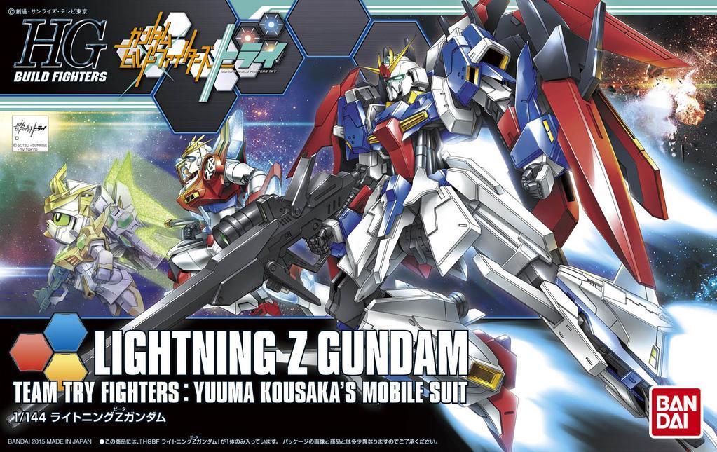 [040] Lightning Z Gundam (HGBF)