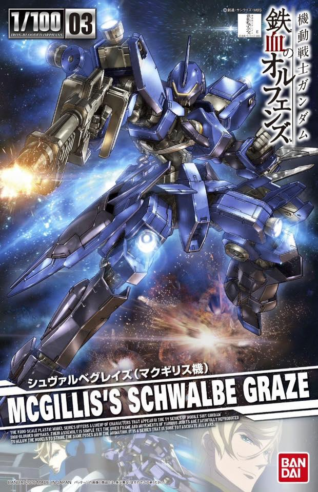 [Iron Blooded Orphans] Schwalbe Graze (Mcgillis Type) (1/100)