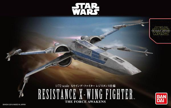 [STAR WARS] Resistence X-Wing Fighter
