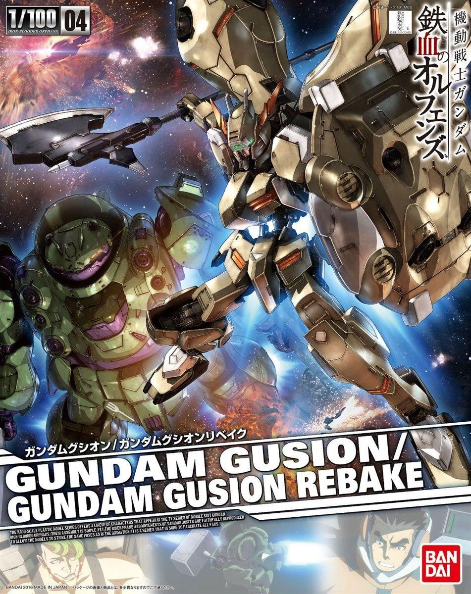 [Iron Blooded-Orphans 04] Gundam Gusion/Gusion Rebake (1/100)