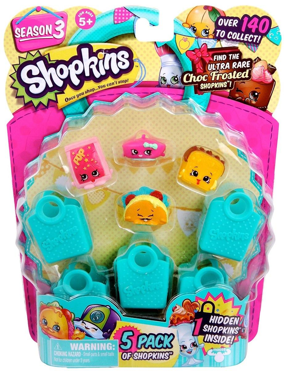 [Moose] Shopkins S3 - 5 Pack