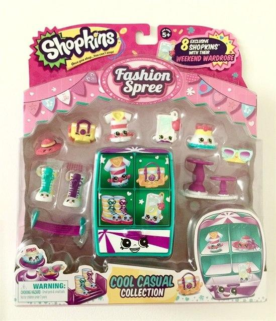 [Moose] Shopkins S3 Fashion Spree Pack (Weekend Wardrobe)
