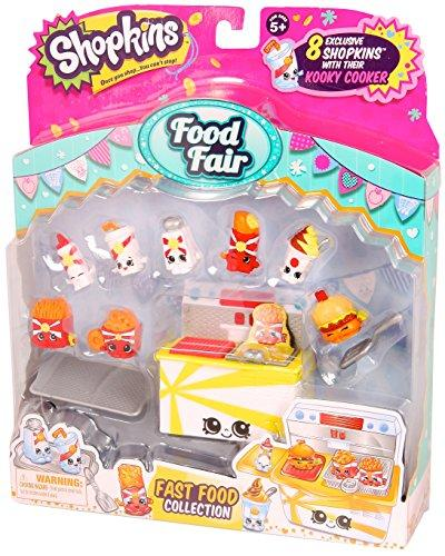 [Moose] Shopkins S3 Food Fair Pack (Kooky Cooker)