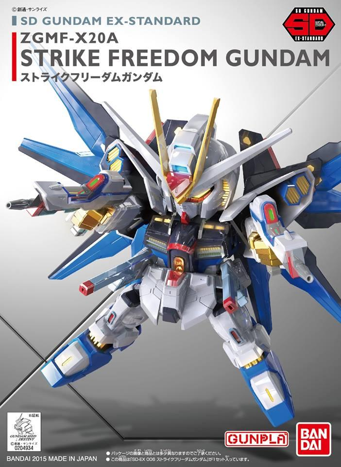 SD Ex-Standard ZGMF-X20A Strike Freedom Gundam