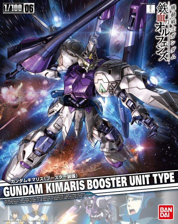 [Iron Blooded Orphans 06] Gundam Kimaris Booster Unit Type (1/100)