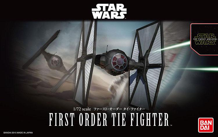 [Star Wars] First Order Tie Fighter 1/72 scale