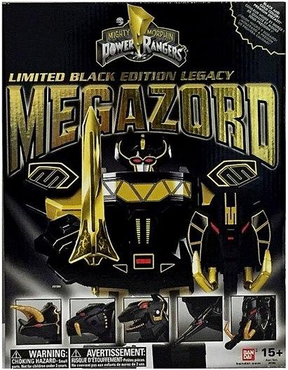 Mighty Morphin Power Rangers Limited Black Edition Legacy Megazord