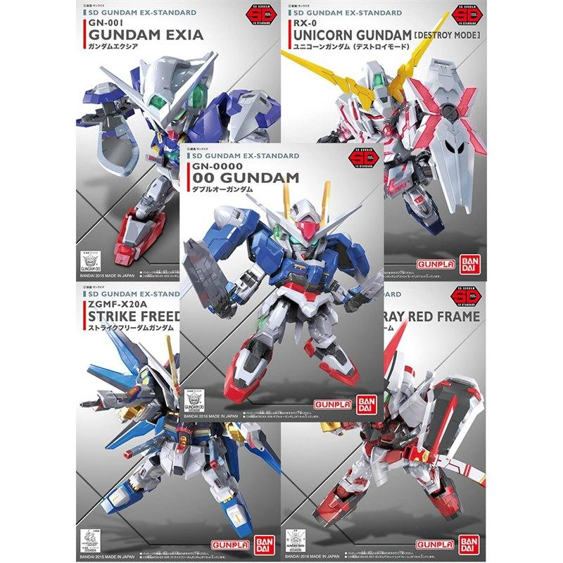 SD Ex-Standard 5 in 1 (Exia,Unicorn,Strike Freedom,Red Frame,Gundam 00)