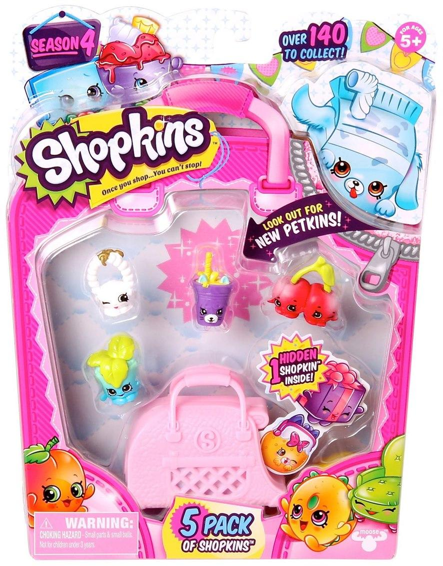 [Moose] Shopkins S4 - 5 Pack