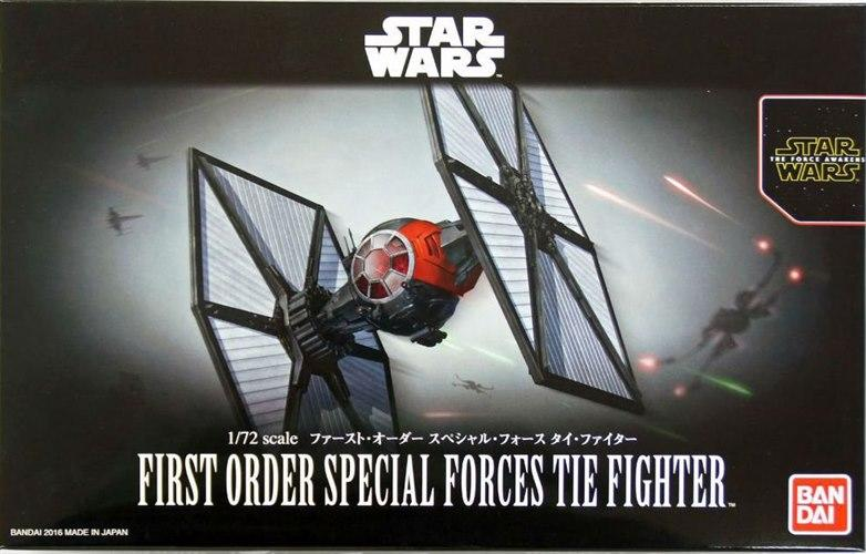 [Star Wars] First Order Special Forces Tie Fighter 1/72 scale