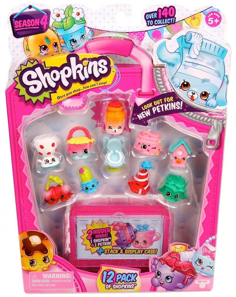 [Moose] Shopkins S4 - 12 Pack