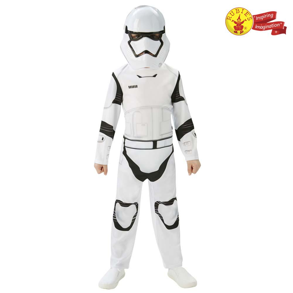 Rubies Kid Costume: Star Wars 7 Stormtrooper Classic Costume - M Size
