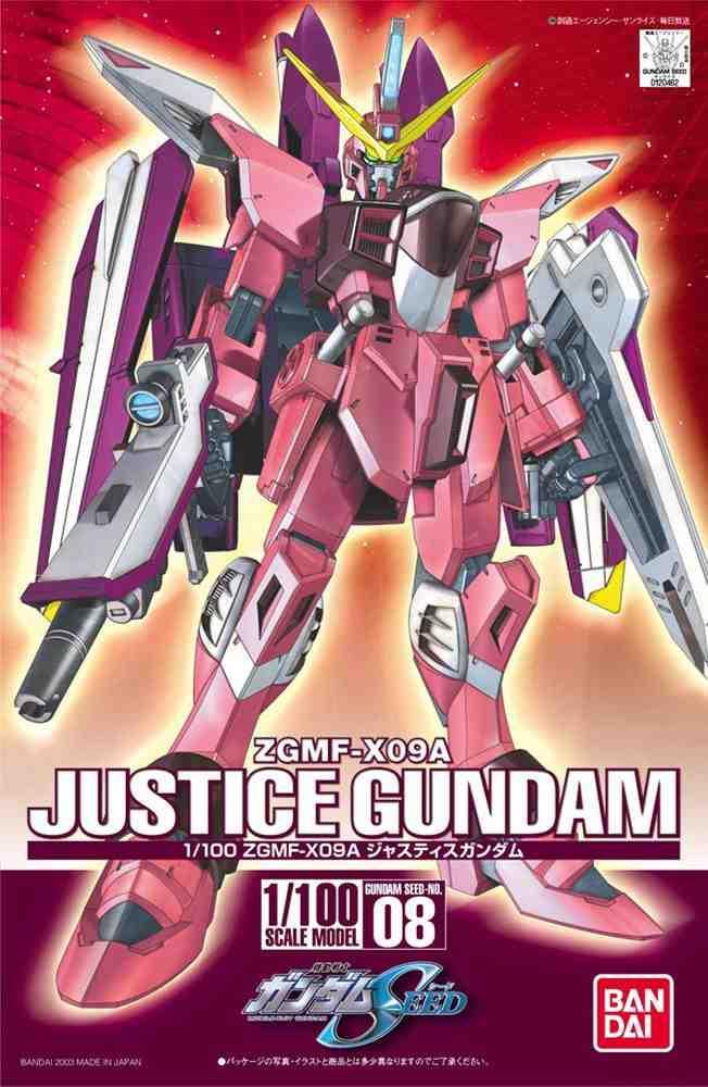ZGMF-X09A Justice Gundam Model Kit