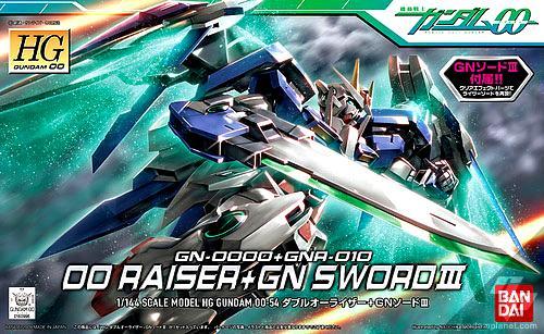 [54]00 Gundam 00 Raiser + GN Sword III
