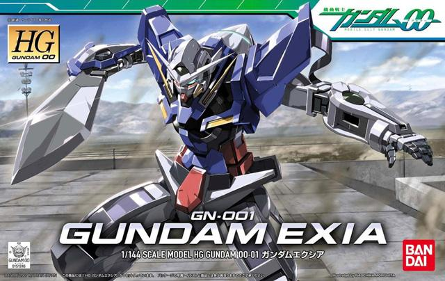 [01] HG GN-001 Gundam Exia