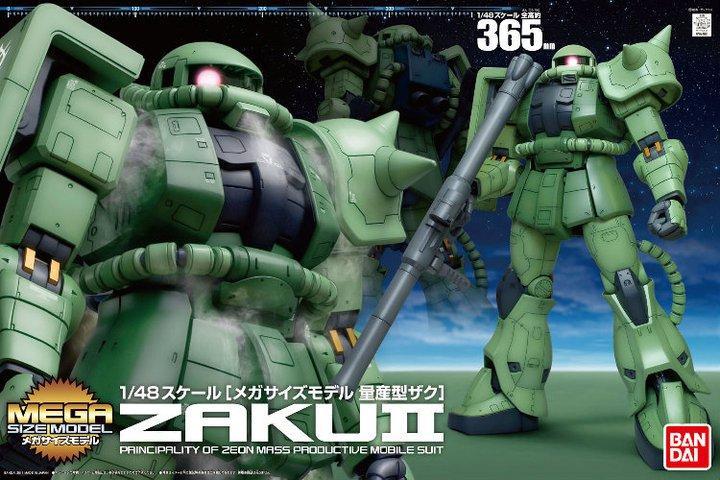 1/48 Mega Size Model Zaku II