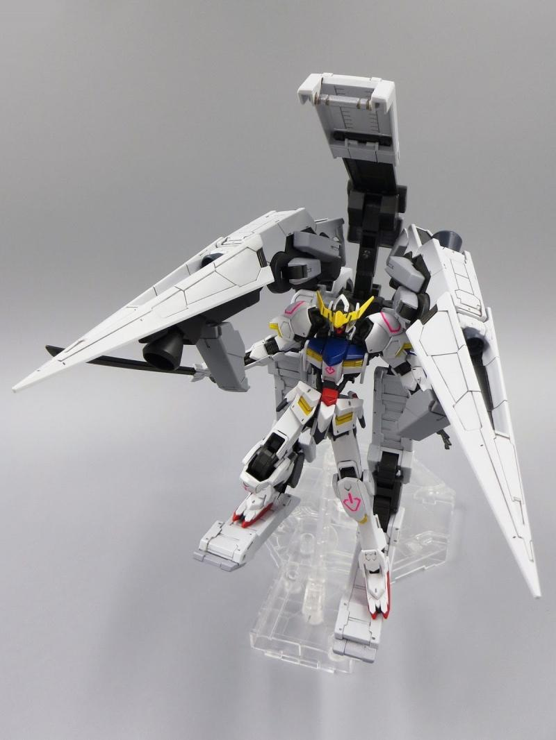 [Iron Blooded Orphans 007] Gundam Barbatos & Long Distance Transport Booster Kutan San Model (HG)
