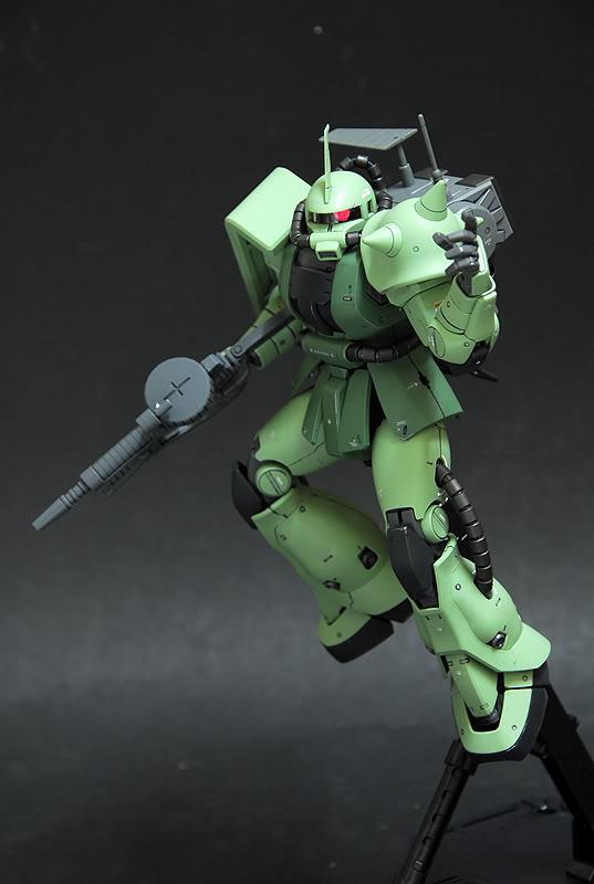MG 1/100 MS-06F Zaku Minelayer