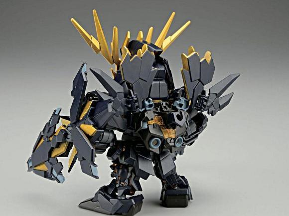 [391] SDBB Unicorn Gundam 02 Banshee Norn