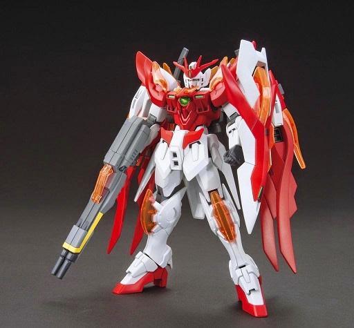 [033] HGBF 1/144 Wing Gundam Zero Honoo