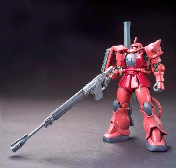 [001] HG ORIGIN 1/144 MS-06S Chars Zaku II