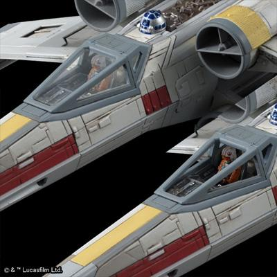 [Star Wars] X-WING STARFIGHTER 1/72 scale