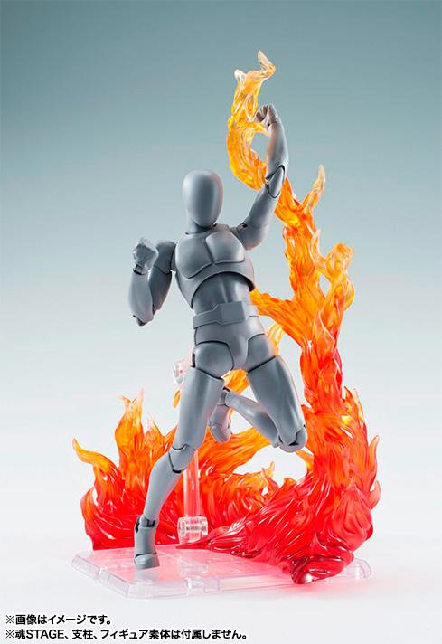 Flame Effect for modelling kits (Red Colour Flame)