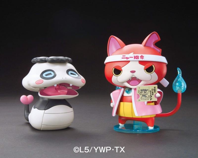 Youkai Watch - Nya-KB Cheering Stage Set Tsuchinoko Panda And Jibanyan