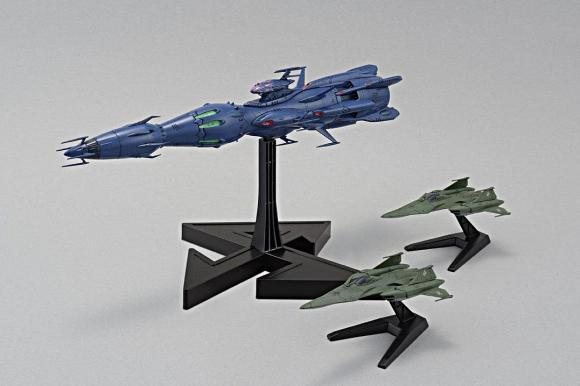 Independent Command Vessel Deusula the 2nd Core Ship (1/1000)