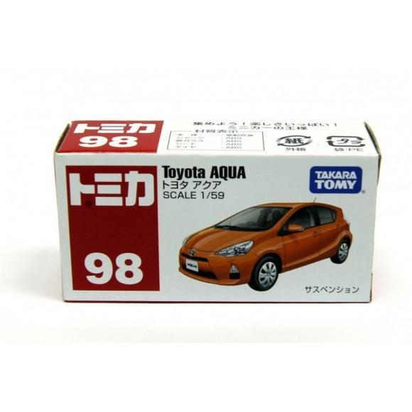 Tommy Takara Diecast vehicle - #98 TOYOTA AQUA