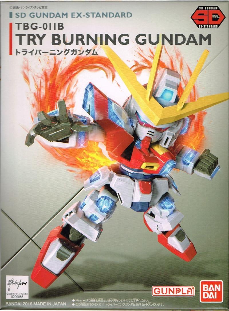 SD Ex-Standard 2 in 1 (Gundam Barbatos, Try Burning Gundam)