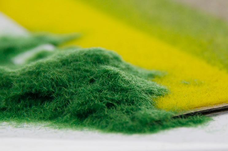 [Diorama] Grass Powder - Light Green Color (25 gram)